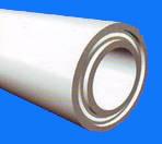 Армированная труба с расположением алюминиевой фольги в середине стенки трубы